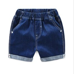 Denim Style For Babies Australia - Toddler Boys Clothes Denim Shorts 2019 Summer Children Casual Shorts For Boys Elastic Waist Shorts Toddler Denim Short Pants Baby Clothing