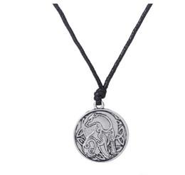 $enCountryForm.capitalKeyWord UK - JF095 Viking religious retro animal symbol vintage Eagle charm Bear amulet Unicorn pendant necklace for women