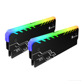 $enCountryForm.capitalKeyWord Australia - 2PC Memory RAM RGB Cooler Heat Sink Cooling Vest Fin Radiation Dissipate For DIY PC Game Overclocking MOD DDR DDR3 DDR4
