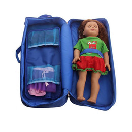 Chinese  Baby Girl Doll Toy Bag Doll Accessories For Children Doll Clothes Sorting And Storage Bag Portable Carry Washable Foldable manufacturers