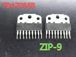 China 20pcs lot new Integrated Circuits TDA7056B TDA7056 ZIP-9 audio amplifier chip in stock free shipping suppliers
