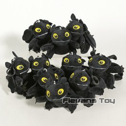 stuff toy small NZ - How to Train Your Dragon Toothless Dragon Plush Toys Night Fury Toothless Soft Stuffed Animals Toys Gift for Children 10pcs lotMX190925