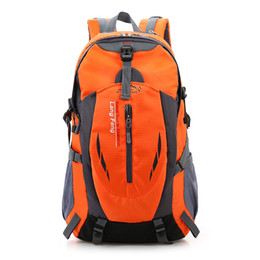 Chinese  Sports Leisure Travel Outdoor Backpack Shoulder Bag Men Waterproof Bulk Travel Mountaineering Bags Women Tide Package manufacturers