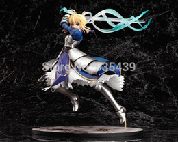 Saber Lily Figure Australia - hot ! NEW 25cm Fate stay night Black Saber Lily the Sword of Victory action figure toy no box