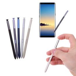 high sensitive stylus pen 2019 - Stylus Touch Screen Pen For Samsung Galaxy Note 8 N950F N950FD N950U N950W S Pen High Quality 100% S-Pen Capacitive High