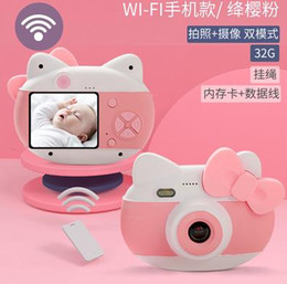 $enCountryForm.capitalKeyWord UK - 25 Million Pixels Digital Camera for Children Toys for Babies Boys and Girls Mini-SLR Portable Wifi Photography HD