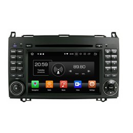 """B Touch Mobile Phone UK - 4GB RAM 64GB ROM PX5 Octa Core 7"""" Android 8.0 Car DVD Player for Benz B200 A-W169 B-W245 Viano Vito RDS Radio GPS WIFI Bluetooth Mirror-link"""