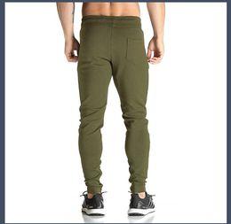 Air Pants Australia - new gym Autumn Men's Casual Pants Fast-drying, Air-breathable Closed Shoe Pants Men's Crotch Squatting Training Fitness Casual Pants Men