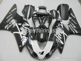 $enCountryForm.capitalKeyWord Australia - ZXMOTOR 7 gifts fairing kit for YAMAHA R1 1998 1999 white black fairings YZF R1 98 99 HS23