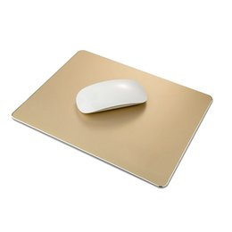 $enCountryForm.capitalKeyWord NZ - Aluminum Gaming Mouse Pad Non Slip Rubber Base for Macbook Computers Laptops 26*20cm
