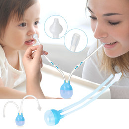 Wholesale Baby Nose Clean Silicone Infant Nasal Aspirator Wash Your Nose Care Baby Nose Nasal Inhaler Infant Preventing Backflow Aspirator B1