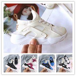 $enCountryForm.capitalKeyWord Australia - 2018 Air Huarache Ultra Running Shoes For Men Woman Big kids Black White Air Huaraches Huraches Sports Sneakers size 22-35