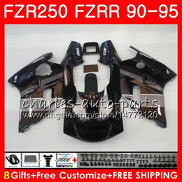 $enCountryForm.capitalKeyWord Australia - Body For YAMAHA FZRR FZR 250 250R 1990 1991 1992 1993 1994 1995 124HM.92 FZR250R FZR-250 FZR250 Black silvery hot 90 91 92 93 94 95 Fairing