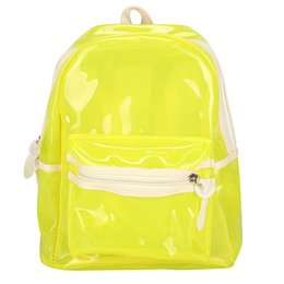9b6af92f5872 Women Bag Transparent Student School Bag Backpack Sweet Cute Girls Gift  Waterproof Candy Color Lovely #PH