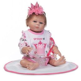 Realistic Girls Toys Australia - Kids Soft Silicone Realistic With Clothes Girl Reborn Baby Doll New Kids Toys Baby Doll