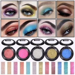 $enCountryForm.capitalKeyWord Australia - New SMAKUP 12 Colors Glitter Mashed Potato Eye shadow Shimmer Single Eyeshadow Makeup Palette Long Lasting Eyes Cosmetics TSLM1