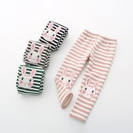 $enCountryForm.capitalKeyWord Australia - Baby Girls Leggings Girl Cartoon Rabbit Embroidery Legging Infantil Para Menina Girls Pants Elastic Waist Winter Autumn 1-4 Year