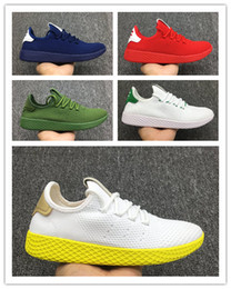 $enCountryForm.capitalKeyWord NZ - (box)New Pharrell Williams x Tennis Hu Womens Mens Running Shoes Stan Smith Primeknit Multicolor Trainers Sports Jogging Sneakers size 36-45