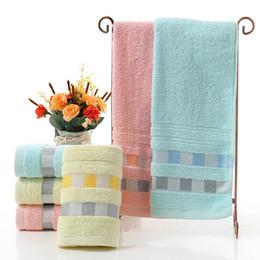 Scarfs Cotton Australia - Cotton Soft Plain Color Solid Color Super Absorbent Bathroom Set Square Scarf Face Towel Bath Towel
