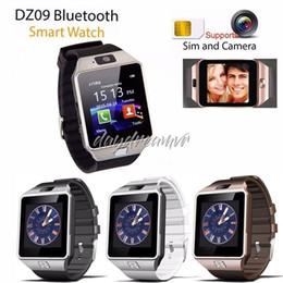 $enCountryForm.capitalKeyWord Australia - Cheapest DZ09 Bluetooth Smart watch for iPhone XS MAX Samsung S10 HUAWEI Android Phone Smartphones VS U8 GV18 retail box free shipping