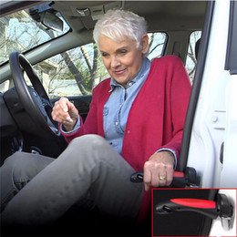 Auto Escape Australia - Portable Car Handle Cane Support Auto Assist Grab Bar Vehicle Emergency Escape Hammer Tool with Window Breaker and Seat Belt Cutter