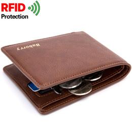 $enCountryForm.capitalKeyWord Australia - 2019 Rfid Wallet Man Slim Theft Design Coin Bag Men Wallets Male PU Small Money Smart Purses Short Card Holder Case Purse W193 #529159