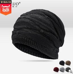 $enCountryForm.capitalKeyWord Australia - F Autumn winter Outdoor cool fashion hat knit hat ear cap for men and women plus fleece caps warm ear knitted hat free shipping