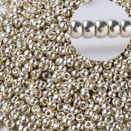 2mm 10 grams bag 1000pcs Crystal Spacer Czech Glass Seed Beads Gold Silver For Jewelry Making Handmade DIY Earring Bracelet on Sale