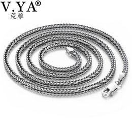 $enCountryForm.capitalKeyWord Australia - V.ya 2.8mm Solid 925 Silver Male Chain S925 Sterling Silver Snake Chains Necklaces For Men Women Jewelry Accessories J190530