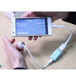 Akıllı USB Nabız Kan Oksijen nabız oksimetre Spor Izci Spor android için indirimde
