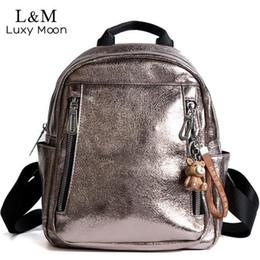 $enCountryForm.capitalKeyWord Australia - Women Pu Leather Backpack Mini Backpack Cute Back Pack Rucksack For Teenage Girls Small School Bags 2019 Feminine Mochila Xa545h J190627