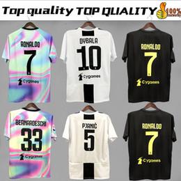 8f59c3e2f04 Black sports shirt online shopping - RONALDO Juventus home third Kit Men  Woman Kids Soccer Jersey