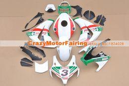 $enCountryForm.capitalKeyWord Australia - New ABS Injection Molding motorcycle Kits 100% Fit For Honda CBR1000RR 08 09 10 11 2008-2011 plastic Fairings bodywork set red green white