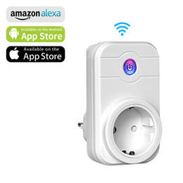 $enCountryForm.capitalKeyWord NZ - Cheap Power Plug NTONPOWER Smart Wifi Plug Socket EU with App Remote Control Timer Wifi Socket Smart remote wireless Controls