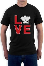 Chef Prints Australia - I Love Cooking - Chef Hat Print Gift for Cooks T-Shirt Funny