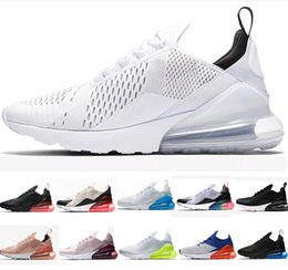 4c969a3ba64 Blanco negro zapatos tenis online-2019 Nike air max airmax 270 White  Hologram Iridescent Junior
