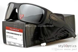 SunglaSSeS iridium online shopping - O sunglasses designer oo9239 crankshaft polarized driving man glasses matte black grey iridium les ok001