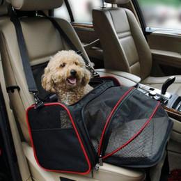 $enCountryForm.capitalKeyWord Australia - 1pc Multi-functional Folding Pet Puppy Dog Carrier Dog Cat Car Seat Basket Mat Cage Safe Carry Seat Bag Pet Shoulder Bag Carrier Y19061901