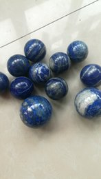 Large Ball Spheres Australia - 50mm Natural Blue Crystal Ball Mineral Lapis Lazuli Healing Sphere Healing Stone Large Crystal DIY Home Decoration Accessory