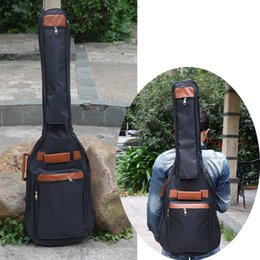 "$enCountryForm.capitalKeyWord NZ - Portable music 40 41""acoustic electric bass guitar gig bag case funda PU backpack soft holder pocket straps padded waterproof"