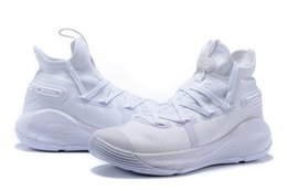 51cea53b35a Currys 6 kids Triple white shoes for sales Stephen High boys Basketball shoes  store free shipping With Box US4-US12