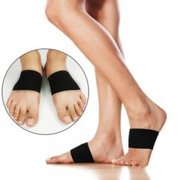 9fce45553c Flat Feet Correction Foot Massage Arch Pad Foot Care Pain Relief Wrap Insole  Pads Support Cushions LLA126
