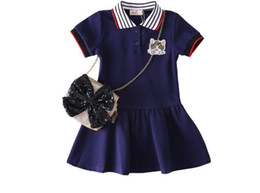 $enCountryForm.capitalKeyWord UK - Children's Skirt with Threaded Collar and Short Sleeve Dress Princess Skirt Exported from Europe and America