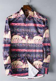 Branded Double Shirts Australia - 2018 Brand Men's Business Casual shirt mens long sleeve striped slim fit camisa masculina social male shirts new fashion shirt #5011