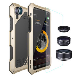 Wholesale iphone effects resale online - New Applicable iphone series three anti mobile phone shell X with three special effects lens for Apple XS fisheye wide angle macro