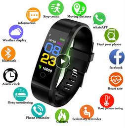 Новые Смарт-Часы Мужчины Женщины Монитор Сердечного ритма Артериального Давления Фитнес-Трекер Smartwatch Спортивные Часы для ios android + BOX