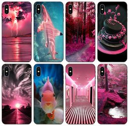 samsung prime soft case NZ - [TongTrade] Love Pink Black Case For iPhone 11 Pro Max X XS XR 8s 7s 6 5 SE Samsung J2 J3 J5 J7 Prime Huawei Y6 HTC Desire 820 Soft TPU Case