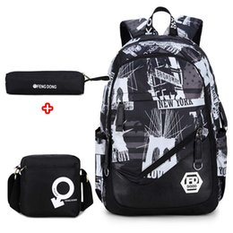 $enCountryForm.capitalKeyWord NZ - Brand oxford fabric boys children school bags backpack for teenagers pencil case book bag boy one shoulder schoolbag