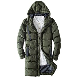 2919c68ecea Streetwear Hoodies Men s Winter Warm Hoodie Long Zipped Thick Solid Fleece  Coat Cotton-padded jacket Jaqueta Masculina