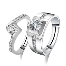 Copper Suits Australia - luxury designer jewelry women rings Wedding Party Rings with cubic zirconia Ring Fit Suit Women couple ring fine jewelry wholesale drop ship
